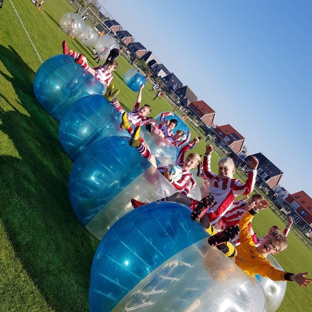 bubblevoetbal uitje
