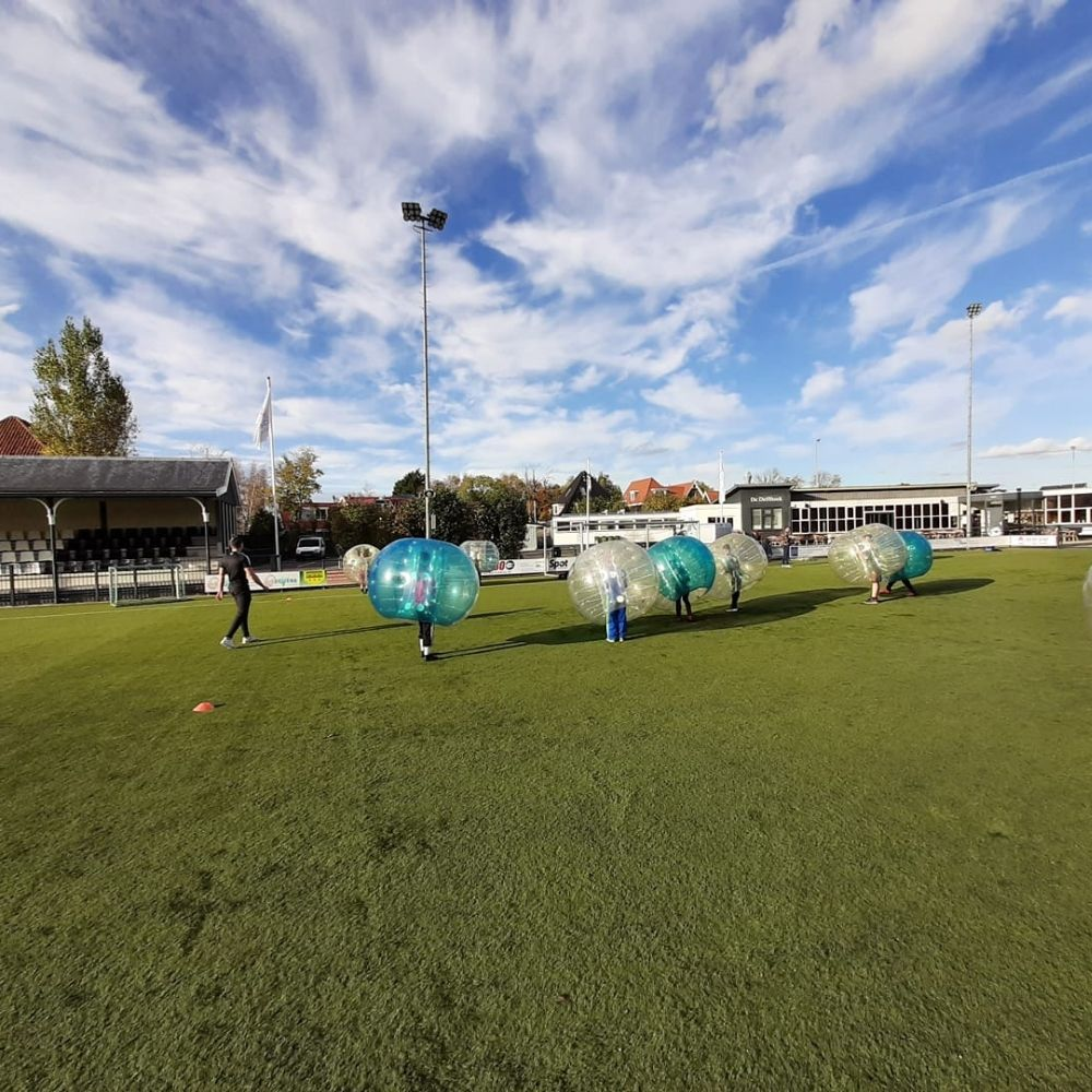 voetbalschool assendelft bubbelvoetbal